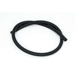 -06 AN Hydraulikschlauch Nylon CPE schwarz, 90cm
