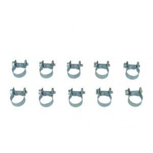 10er Pack BOOST products HD Mini Schlauchschellen, 10-12mm