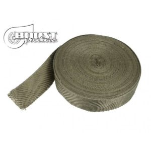 30m BOOST products Hitzeschutzband Titan 50mm breit – Made in Germany