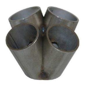 4-Zylinder Sammler für T3 Flansch für Krümmerbau