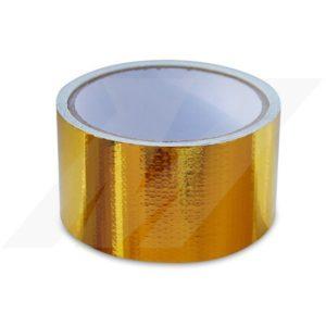 4,5m Rolle Gold-Hitzeschutztape Mishimoto – 50mm breit