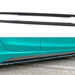 SEITENSCHWELLER DIFFUSOR Volvo V40 R-design – Carbon Look tak