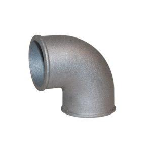90° Aluminiumbogen – Alubogen extrem eng 63,5mm