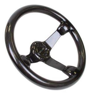 NRG Voll Carbon Lenkrad 350mm