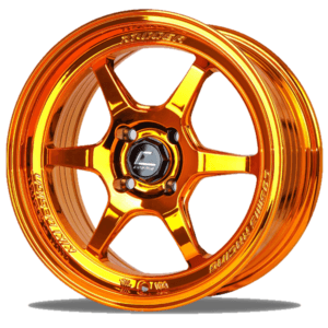 XT-006R – 17×7.5 +38mm 4×100 – Gold anodized