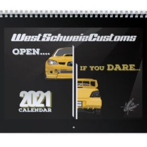 WestSchweizCustoms Kalender 2021 small 21x28cm.