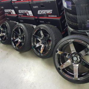Cosmis S1 Demoset mit Reifen