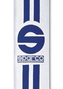 SPARCO Gurtpolster Linea 77 2 Zoll, weiss-blau