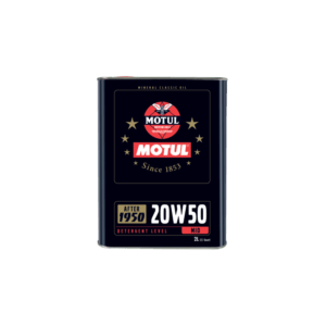 Motul 20W-50 fürHISTORISCHE FAHRZEUGE 2lt.