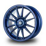 WestSchweizCustoms_Cosmis_R1 - 18x8.5 +35mm 5x114.3 - Matte Navy Blue Milled Lip2