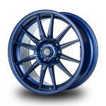 WestSchweizCustoms_Cosmis_R1 - 18x9.5 +35mm 5x114.3 - Matte Navy Blue Milled Lip2