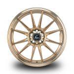 WestSchweizCustoms_Cosmis_R1 - 19x8.5 +43mm 5x112 - Hyper Bronze