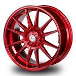 WestSchweizCustoms_Cosmis_R1 - 19x8.5 +43mm 5x112 - Hyper Red