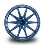 WestSchweizCustoms_Cosmis_R10D - 18x9.5 +35mm 5x114.3 - Matte Navy Blue