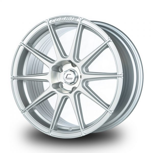 R10D – 18×9.0 +35mm 5×100 – Silver Brushed Milling