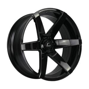 S1 – 22×9.5 +0mm 6×139.7 – Black Milled Spokes
