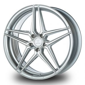 XD-5 – 20×8.5 +43mm 5×112 – Silver