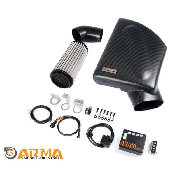 ARMA Carbon Airbox Variable Ansaugung BMW E87.82 135 1M