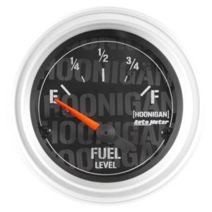 AUTOMETER HOONIGAN 52MM 24 OHM EMPTY 33 OHM FULL ELECTRONIC FUEL LEVEL GAUGE – UNIVERSAL