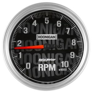 AUTOMETER HOONIGAN 5IN 10K RPM FULL ELECTRONIC TACHOMETER GAUGE – UNIVERSAL