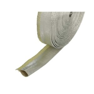 BOOST products 10m Hitzeschutz – Schlauch – Silber – 12mm Durchmesser