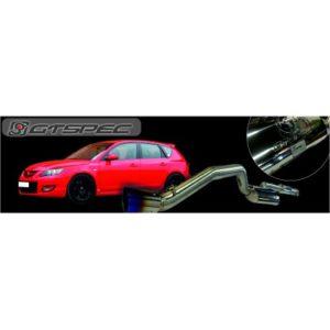 GTSPEC Auspuffanlage Mazda 3 MPS BK 2.3 L