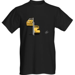 """WestSchweizCustoms Funny """"Subaru front and back"""" T-Shirt"""