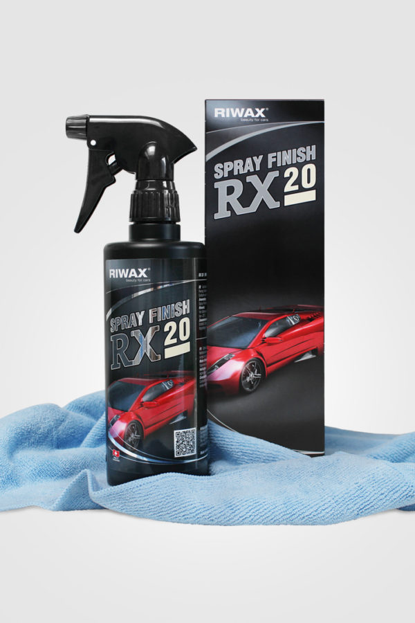 RX 20 SPRAY FINISH SET