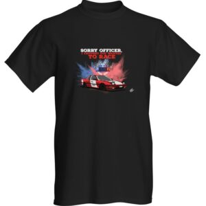 "WestSchweizCustoms Funny ""Racing Cars"" T-Shirt"