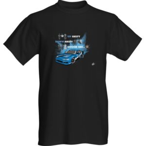 """WestSchweizCustoms Funny """"Oh shit!"""" T-Shirt"""
