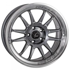 XT-206R – 18×9.0 +33mm 5×114.3 – Gun Metal Milled Lip