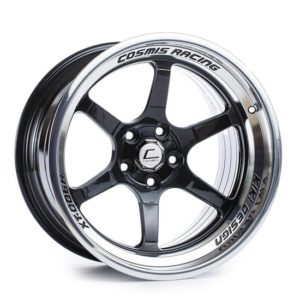 XT-006R – 18×11.0 +8mm 5×114.3 – Black Milled Spokes