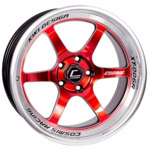 XT-006R – 18×11.0 +8mm 5×114.3 – Red Milled Lip